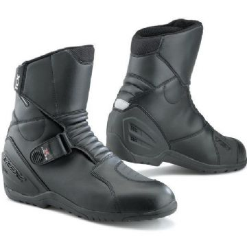 TCX X-Miles Waterproof Urban Motorcycle Touring Boots - Black
